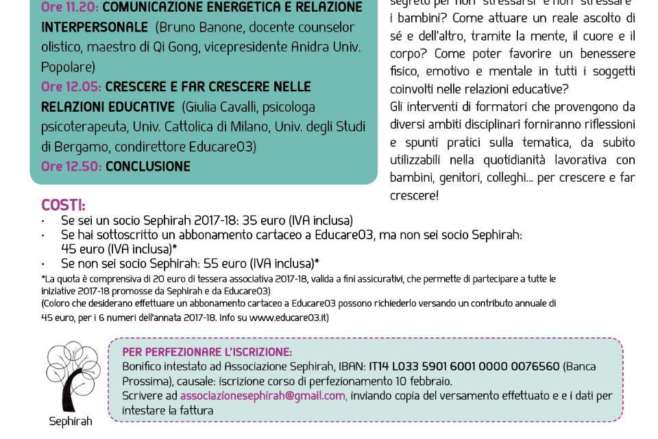 Bambini e adulti senza stress: nuove prospettive di ben-essere (Asti) - Immagine: 2