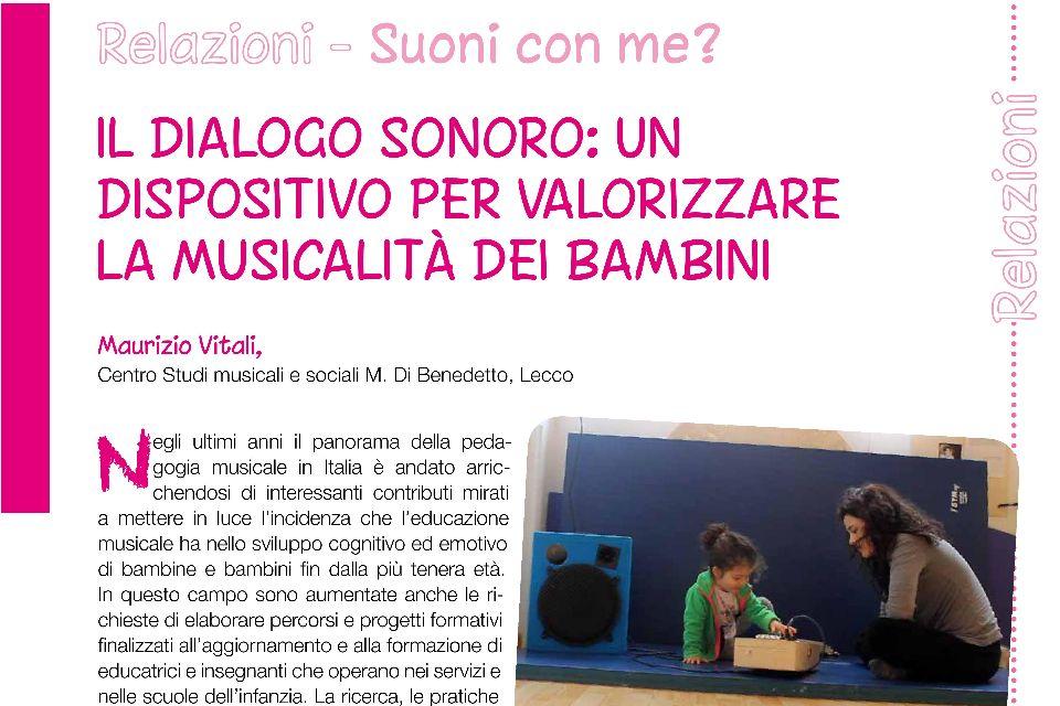 Il dialogo sonoro: valorizzare la musicalità dei bambini