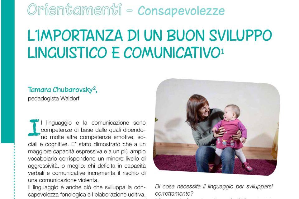 L'importanza di un buon sviluppo linguistico - Immagine: 1