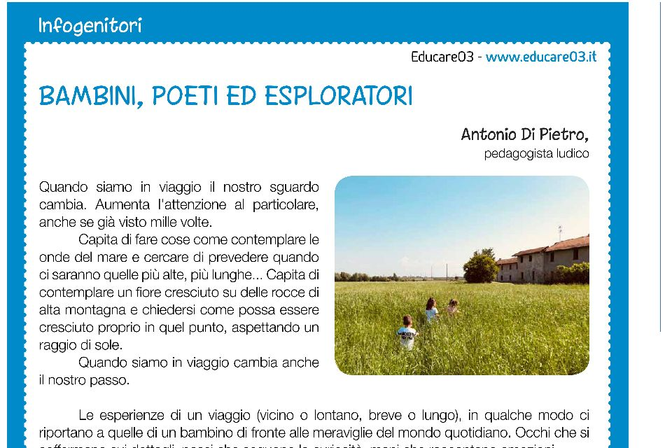 Bambini, poeti ed esploratori - Immagine: 1