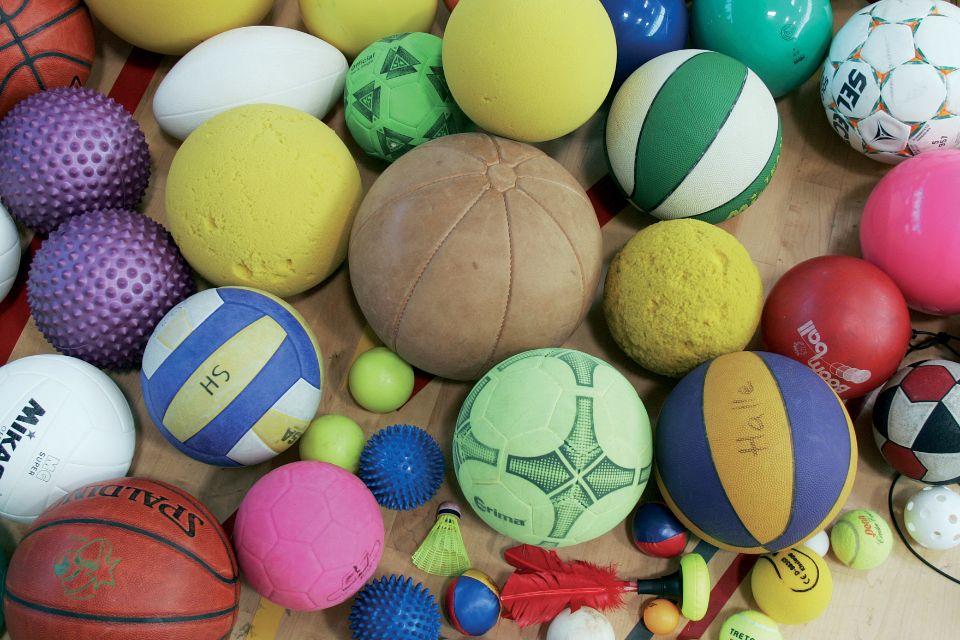 Palle e palline: quanti giochi possiamo proporre!