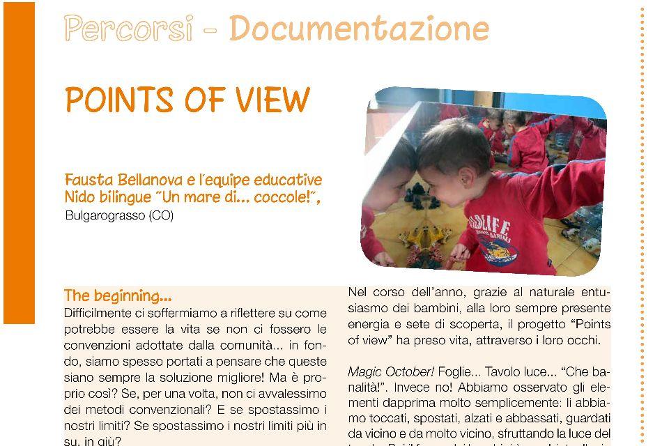 Points of view: lo sguardo dei bambini