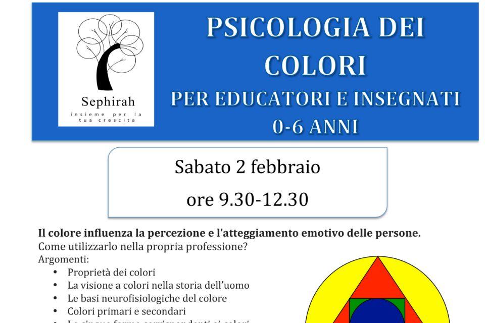 Psicologia dei colori (per educatori e insegnanti)