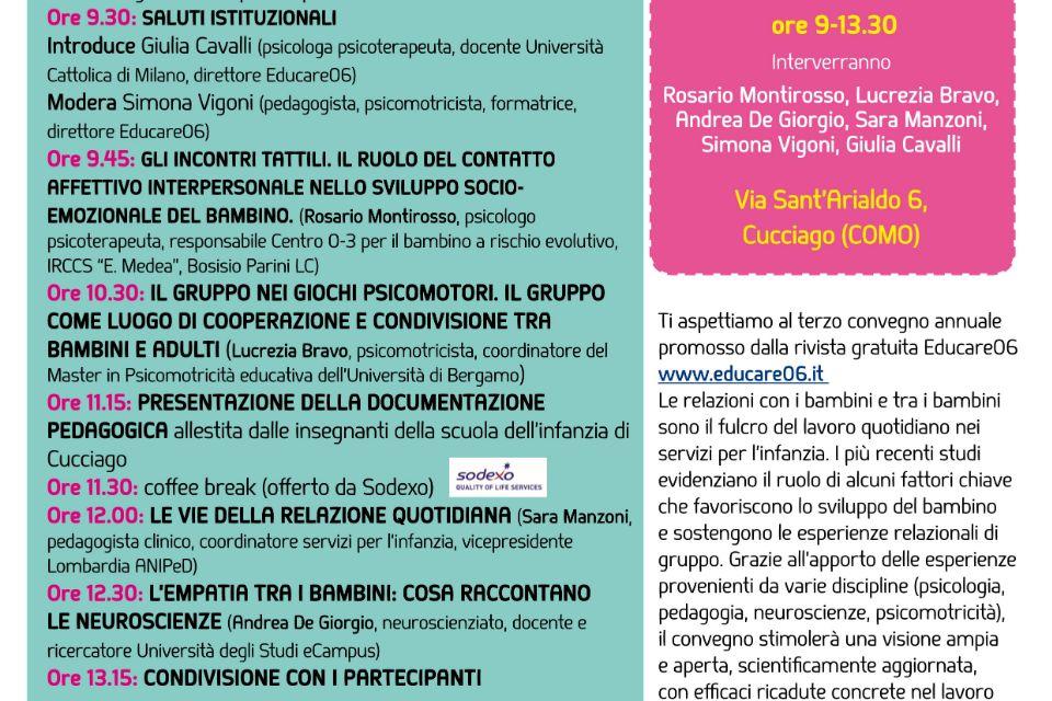 3° Convegno Nazionale Educare06 - Immagine: 2