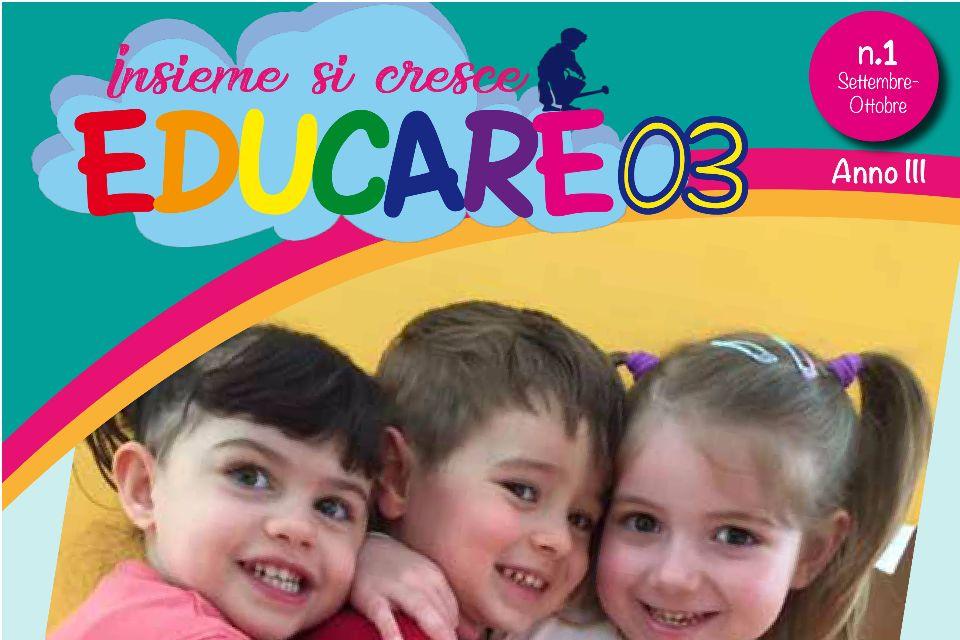 Educare03 - Numero 1 - Settembre/Ottobre 2017 - Immagine: 1
